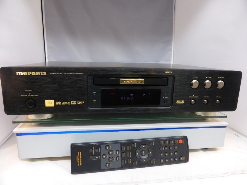 marantz dv7600 highend sacd dvd player mit hdmi. Black Bedroom Furniture Sets. Home Design Ideas