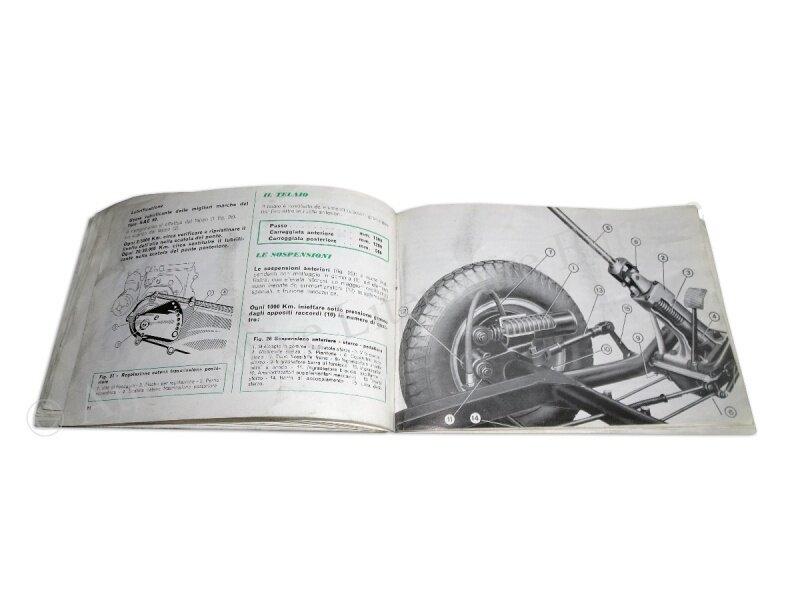 1958 iso isetta betriebsanleitung handbuch bordbuch. Black Bedroom Furniture Sets. Home Design Ideas